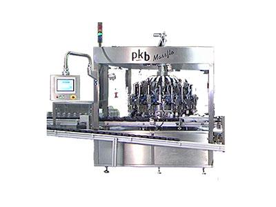 PKB MASSFLO coloration : remplisseuse / boucheuse jusqu'à 200 / 400 cpm