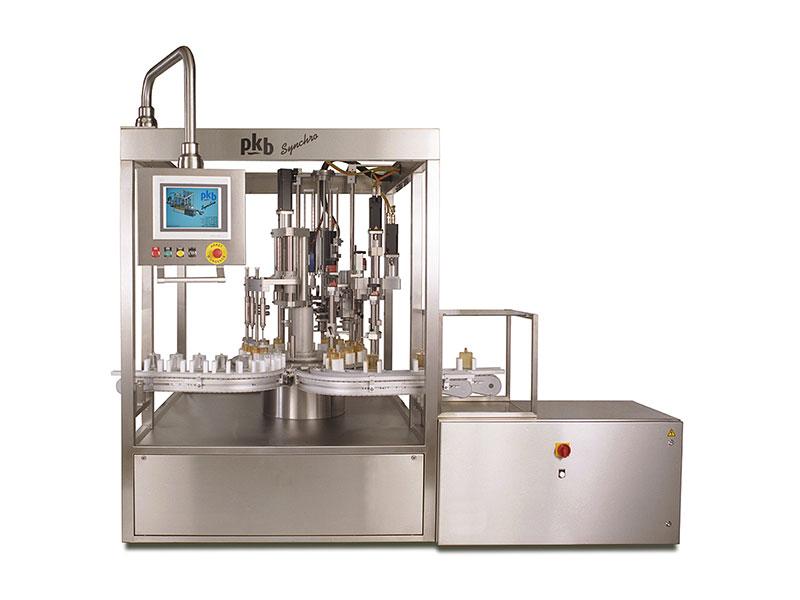 PKB SYNCHRO parfums : remplisseuse / boucheuse 60 cpm
