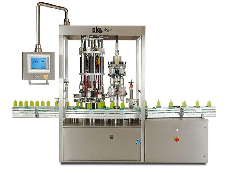 PKB PRESTO parfums : sertisseuse continue multi-formats toute brushless 120 cpm