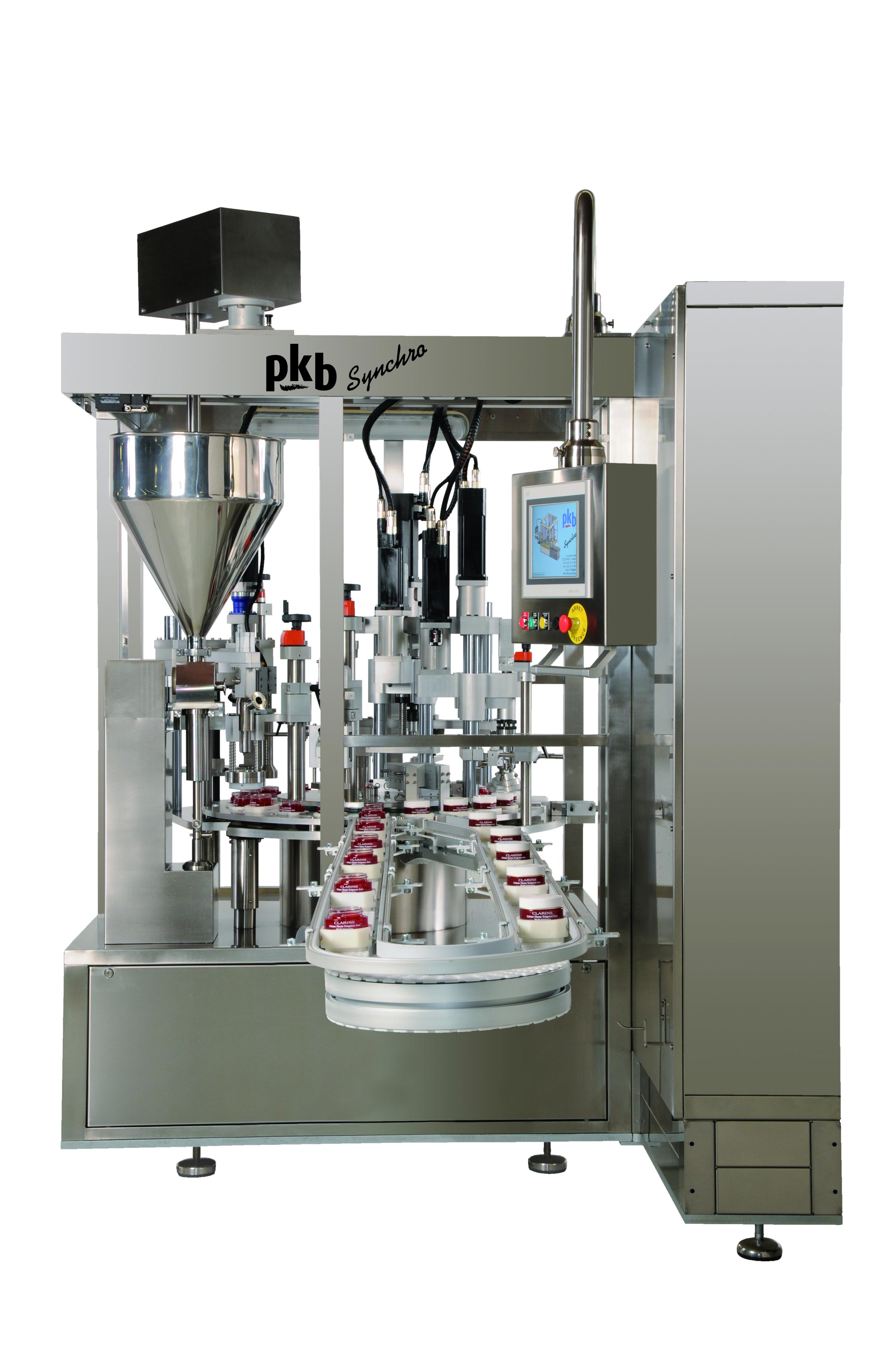 PKB SYNCHRO pots : remplisseuse / boucheuse jusqu'à 60 cpm