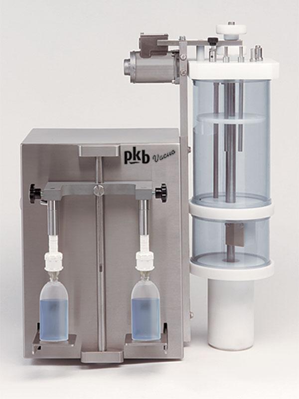 PKB VACUO Parfums : remplisseuse de table