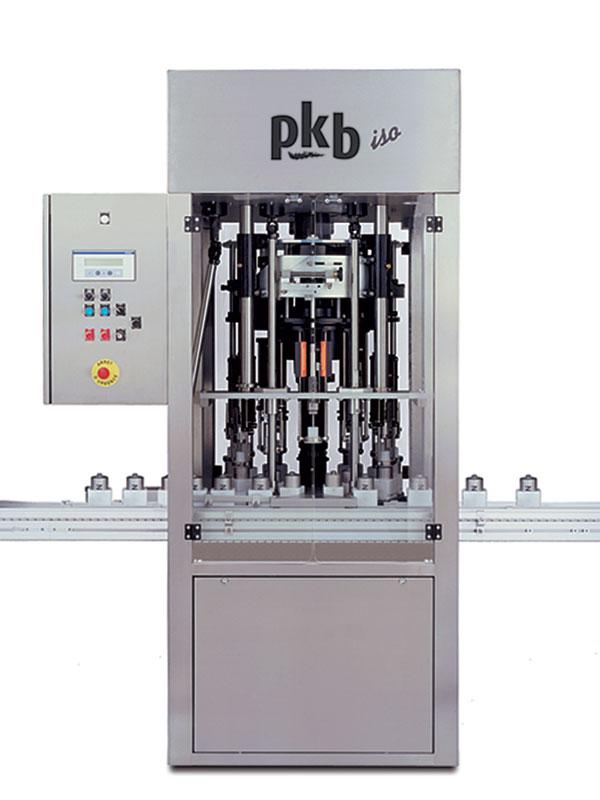 PKB ISO Parfums : remplisseuse rotative à niveau constant jusqu'à 200 cpm